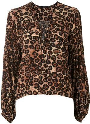 Eva Onca Pintada long sleeve blouse
