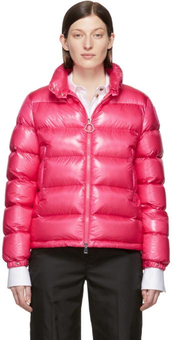 Moncler Pink Down Copenhague Jacket
