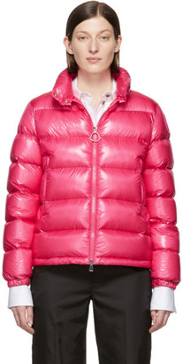 Moncler Pink Down Copenhague Jacket