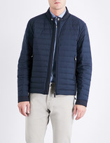 Corneliani Stand-collar quilted shell jacket