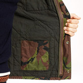 Camo Broadmoor quilted jacket in