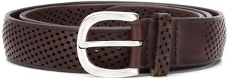 Orciani Cut-Out Square Belt