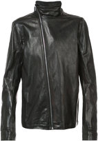 Rick Owens Mollino biker jacket - men - Horse Leather - 48