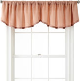 Liz Claiborne Ainsley Rod-Pocket Rounded Ascot Valance