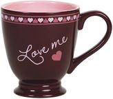 "Hershey's by Fitz and Floyd® Sweet Notes ""Love Me"" Mug in Maroon"