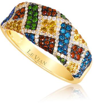 LeVian 14K Honey Gold 1.06 Ct. Tw. Diamond Ring