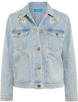 MiH Jeans Embroidered Denim Jacket