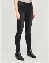 Armani Exchange J69 tapered mid-rise stretch-denim jeans