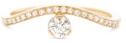 Sophie Bille Brahe Grace Diamant Diamond & 18kt Gold Solitaire Ring - Gold