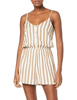 Only Women's ONLEARTH SL Playsuit WVN,10 (Size: )