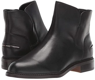 Franco Sarto Happily (Black Leather) Women's Shoes