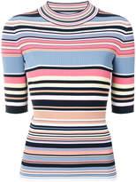 Sportmax striped knit top