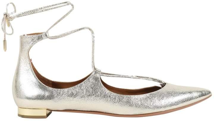 Aquazzura Leather ballet flats