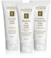 Eminence Sugar Scrub Body Glow Trio
