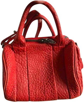 Alexander Wang Rockie Red Leather Handbags