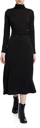 Club Monaco Melissah Knit Belted Dress