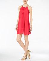 Jessica Simpson Embellished Halter Dress