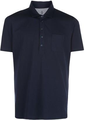 Brunello Cucinelli Short-Sleeved Polo Shirt