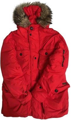 Polo Ralph Lauren Red Polyester Coats