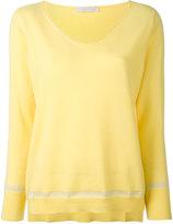 Fabiana Filippi cashmere V neck jumper - women - Polyamide/Polyester/Viscose/Cashmere - 42