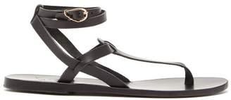 Ancient Greek Sandals Estia Leather Sandals - Womens - Black