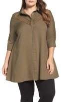 Glamorous Plus Size Women's Swing Tunic