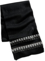 Club Room Men's Knit Scarf, Created for Macy's