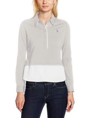 U.S. Polo Assn. Women's Betty Polo LS T-Shirt