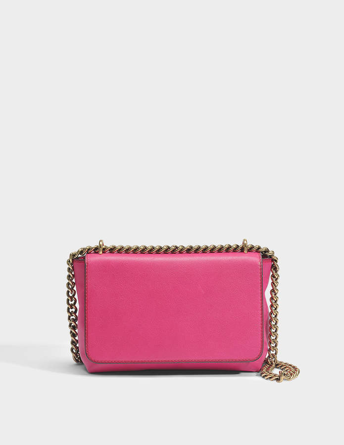 Gerard Darel Chic GD Bag in Fuchsia Leather