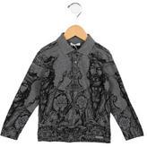 Dolce & Gabbana Boys' Printed Polo Shirt w/ Tags