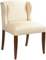 French Heritage St. Croix Nail-Trim Desk Chair, Ivory