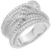 Noir Crystal-Studded Ring