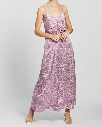 Samsoe & Samsoe Gila Long AOP Dress