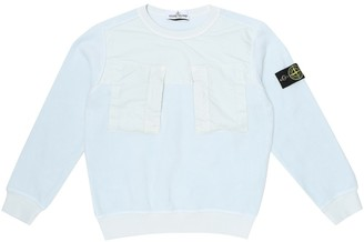 Stone Island Junior Cotton-blend sweatshirt