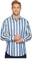 Robert Graham Surfin' USA Long Sleeve Woven Shirt Men's Long Sleeve Pullover