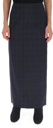 Maison Margiela Plaid Maxi Skirt