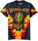 Liquid Blue Men's Grateful Dead Montego Bay Tie Dye Short Sleeve T-Shirt