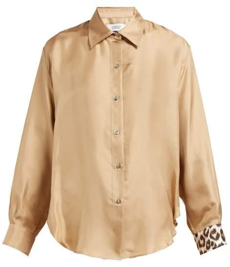 42e8cb13f29f Leopard Collar Shirt - ShopStyle