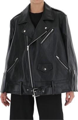 Maison Margiela Batwing Leather Biker Jacket