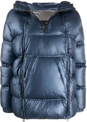 Mr & Mrs Italy Quilted-Down Pull-Over Jacket