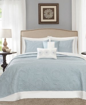 Madison Home USA Ashbury 5-Pc. Quilted Queen Bedspread Set Bedding