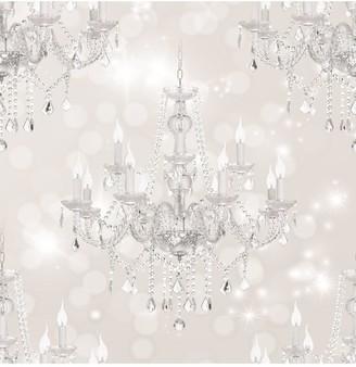 BEIGE Sublime Chandelier Wallpaper