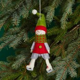 Bloomingdale's Felt Skating Snowman Ornament - 100% Exclusive