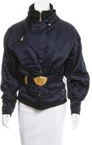 Bogner Belted Bomber Jacket