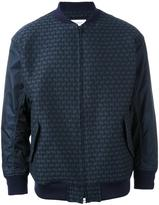 EN ROUTE patterned bomber jacket