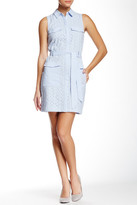 Cynthia Steffe CeCe by Shea Sleeveless Shirt Dress