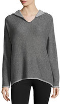 Neiman Marcus Hooded Cashmere Pullover Sweater