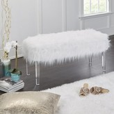 Everly Linwood Fur Storage Bench Quinn
