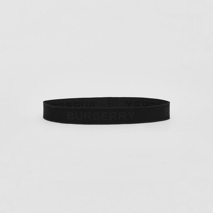 Burberry Logo Jacquard Headband