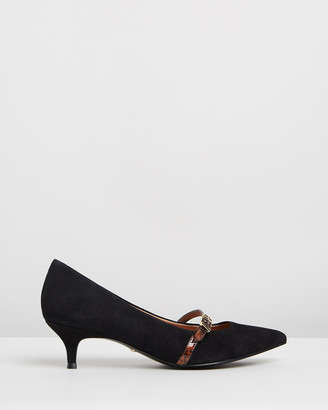 Vionic Women's Black All Pumps - Minnie Kitten Heels - Size One Size, 9 at The Iconic